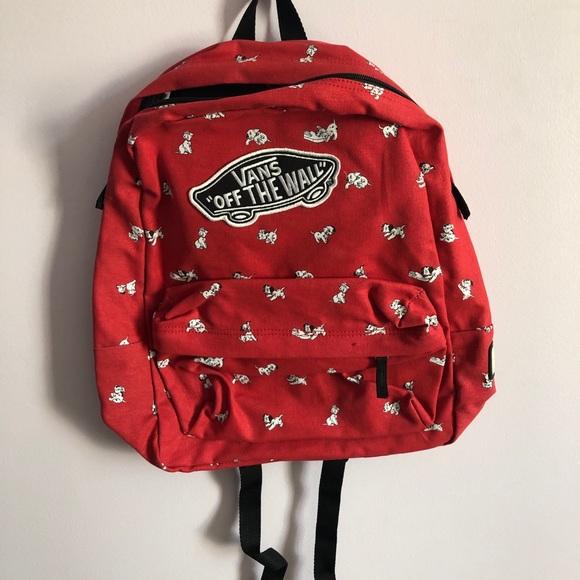 d722a18446 Vans Dalmatian backpack. M 5c56316303087c85760617ec